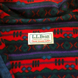 L.L. Bean Fleece Lined Jacket