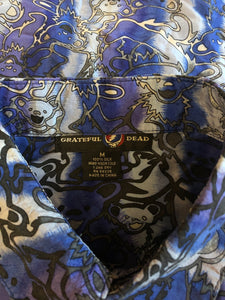 Grateful Dead Silk Button Down