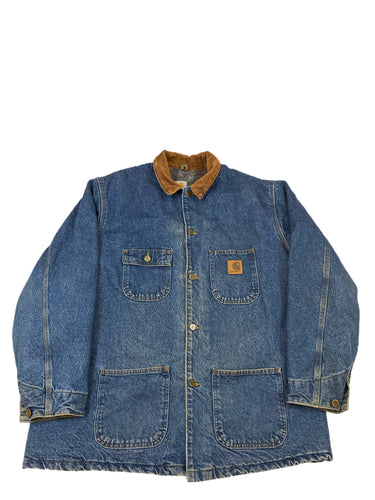 Carhartt Blanket Lined Denim Jacket