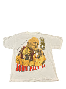 Pope John Paul II Street Vendor Tee