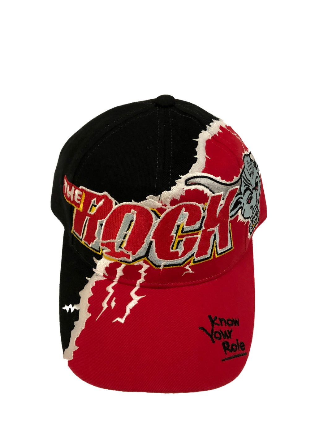 The Rock WWF Racing Hat