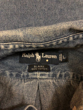 Load image into Gallery viewer, Polo Ralph Lauren Denim Button Up