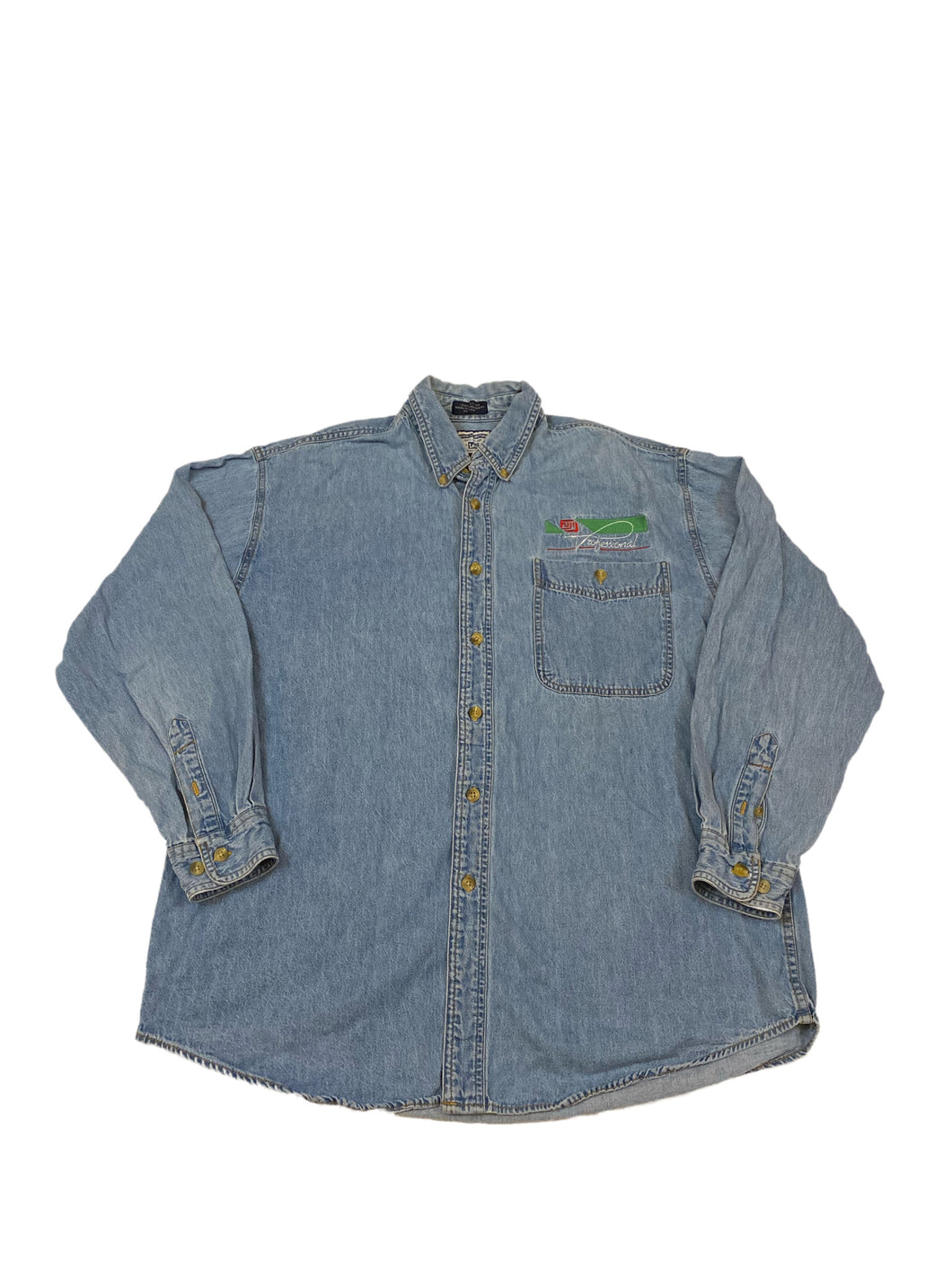 Fuji Professional Denim Button Down