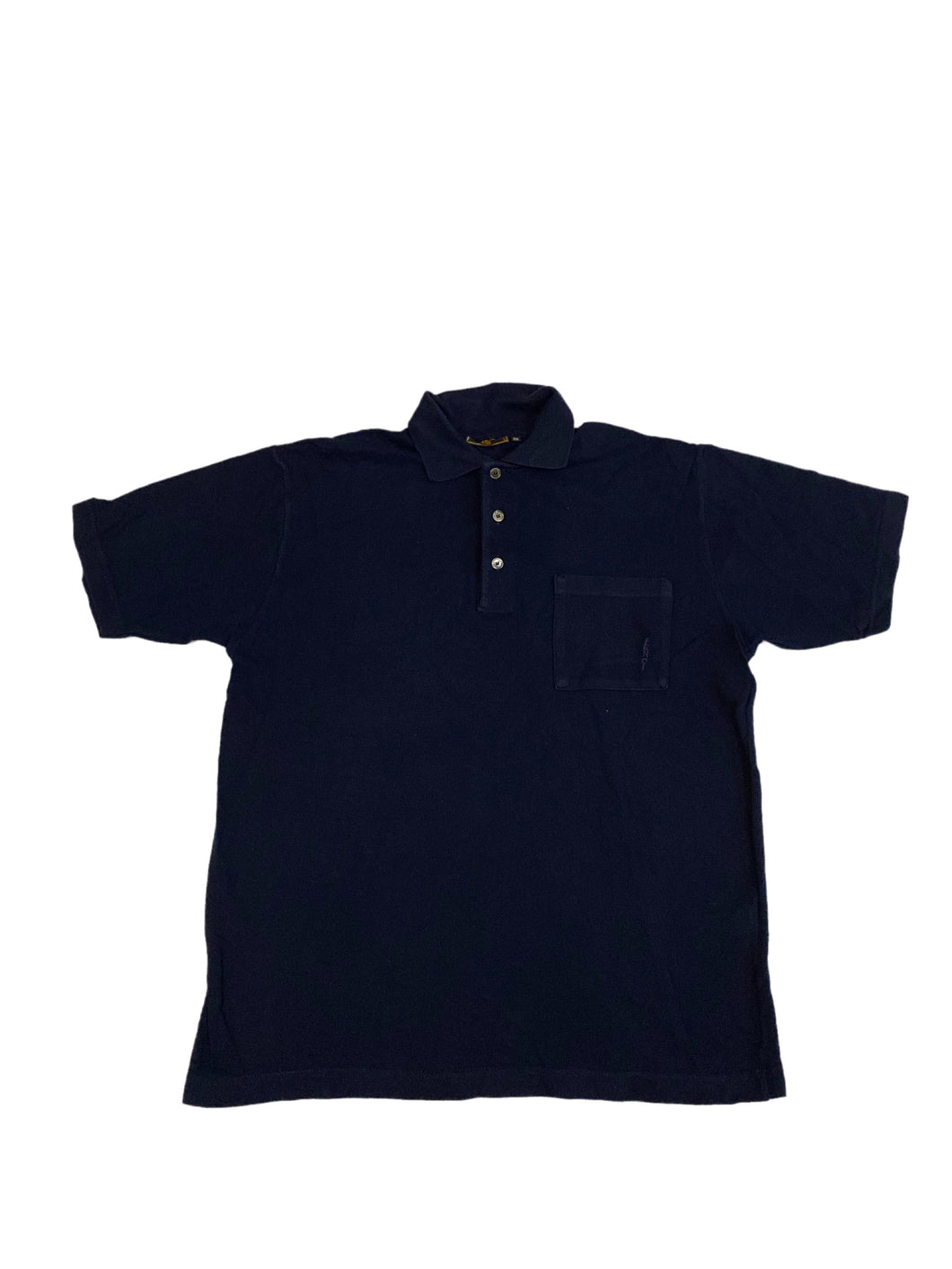 Fendi Navy Pocket Polo