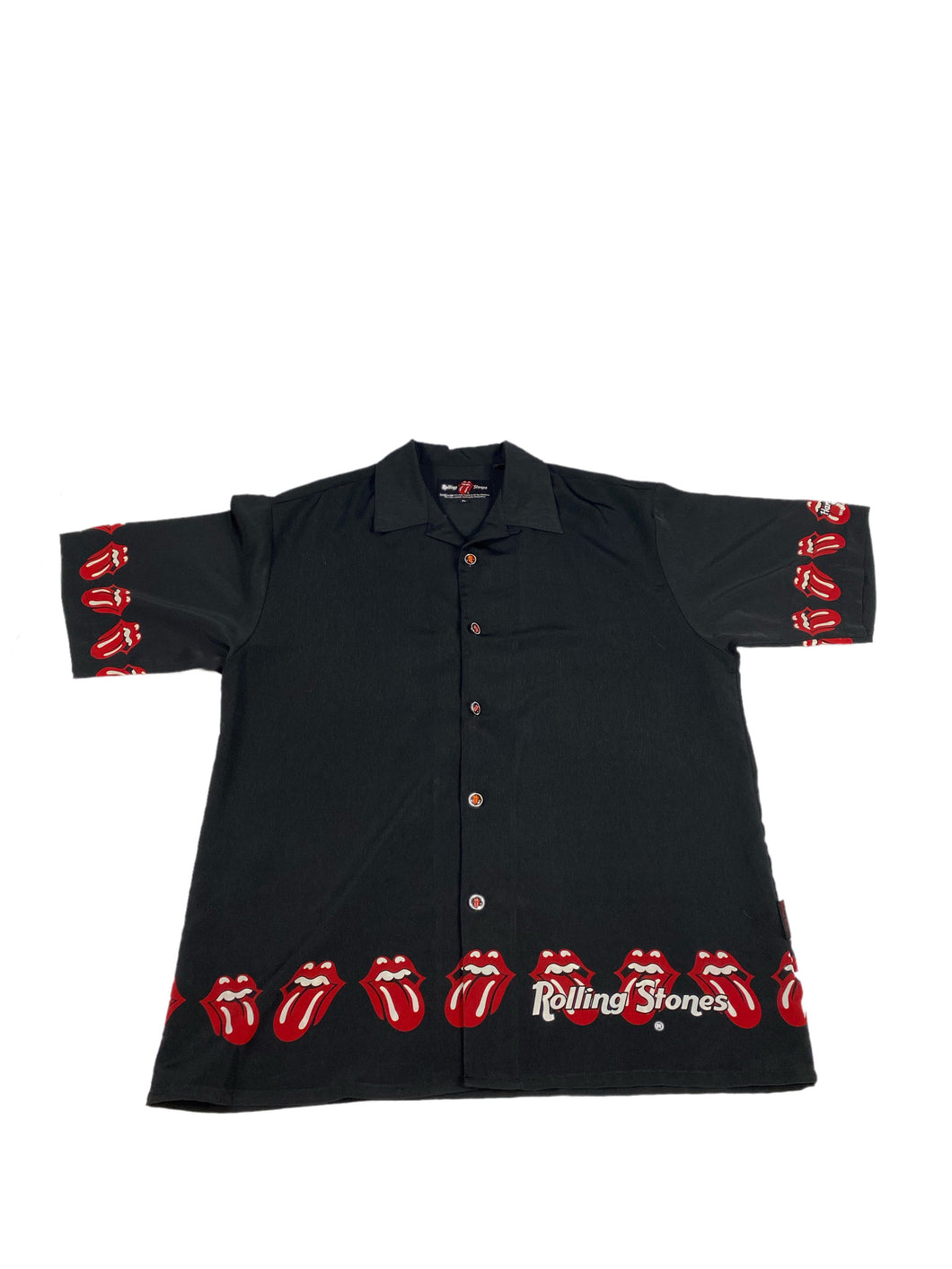 Hard Rock Cafe Rolling Stones Button Down