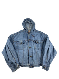 The Gap Hooded Denim Jacket