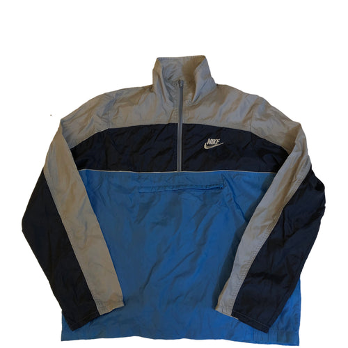 Packable Nike Blue Tag Windbreaker