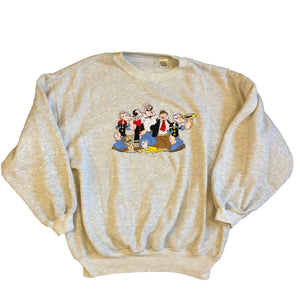 Popeye The Sailor Man Crewneck