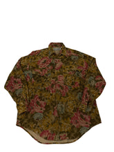 Load image into Gallery viewer, Coliseum Corduroy Floral Button Down