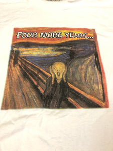 Four More Years The Scream Tee