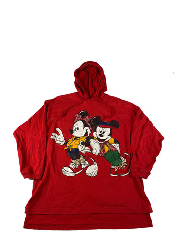 Mickey and Minnie Hooded Long Sleeve