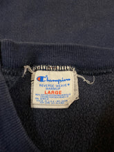 Load image into Gallery viewer, Navy Champion Reverse Weave Crewneck