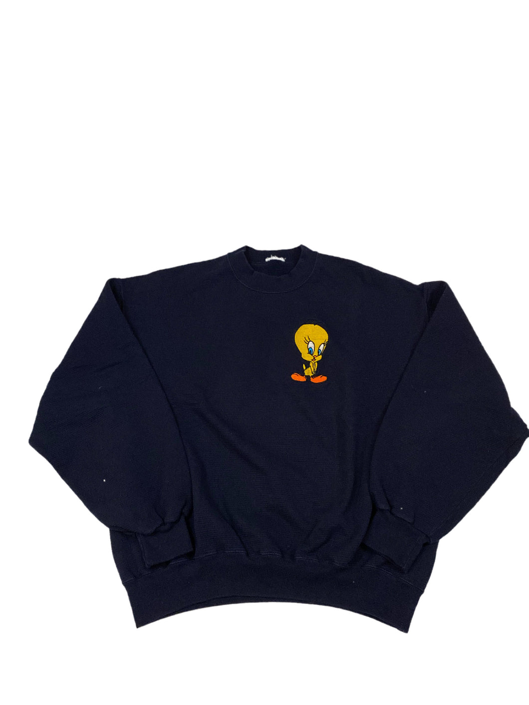 Tweety Embroidered Crewneck