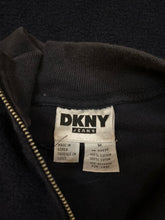 Load image into Gallery viewer, DKNY Jeans Terrycloth 1/4 ZIP