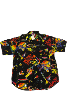 Jams World Planet Hollywood Space Button Down