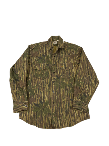 Duxbak Real Tree Camo Button Down