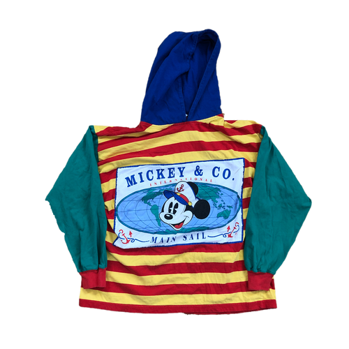 Mickey Mouse Hooded Long Sleeve