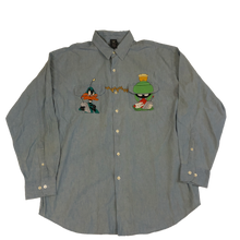 Load image into Gallery viewer, Duck Dodgers Looney Tunes Button Down
