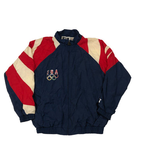 1996 Starter Olympic Windbreaker