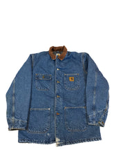 Load image into Gallery viewer, Carhartt Blanket Lined Denim Jacket