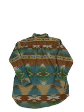 Load image into Gallery viewer, Woolrich Aztec Print Button Down