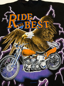 Ride The Best USA Thunder Tee