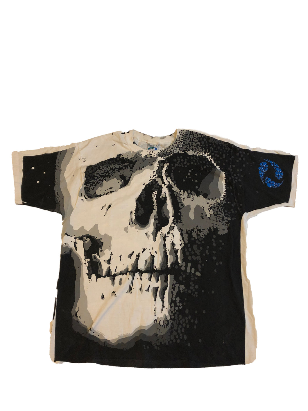 Liquid Blue Skelton Tee
