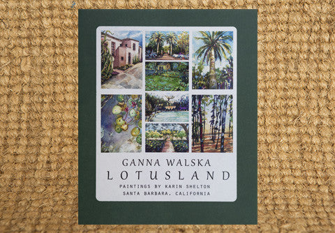 Lotusland Notecards by Karin Shelton