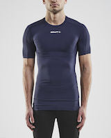 Craft Pro Control Compression t-shirt med flad krave