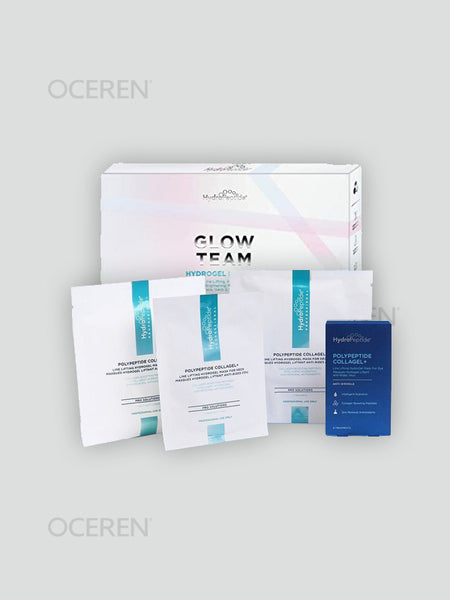Glow Team HydroGel Mask Set