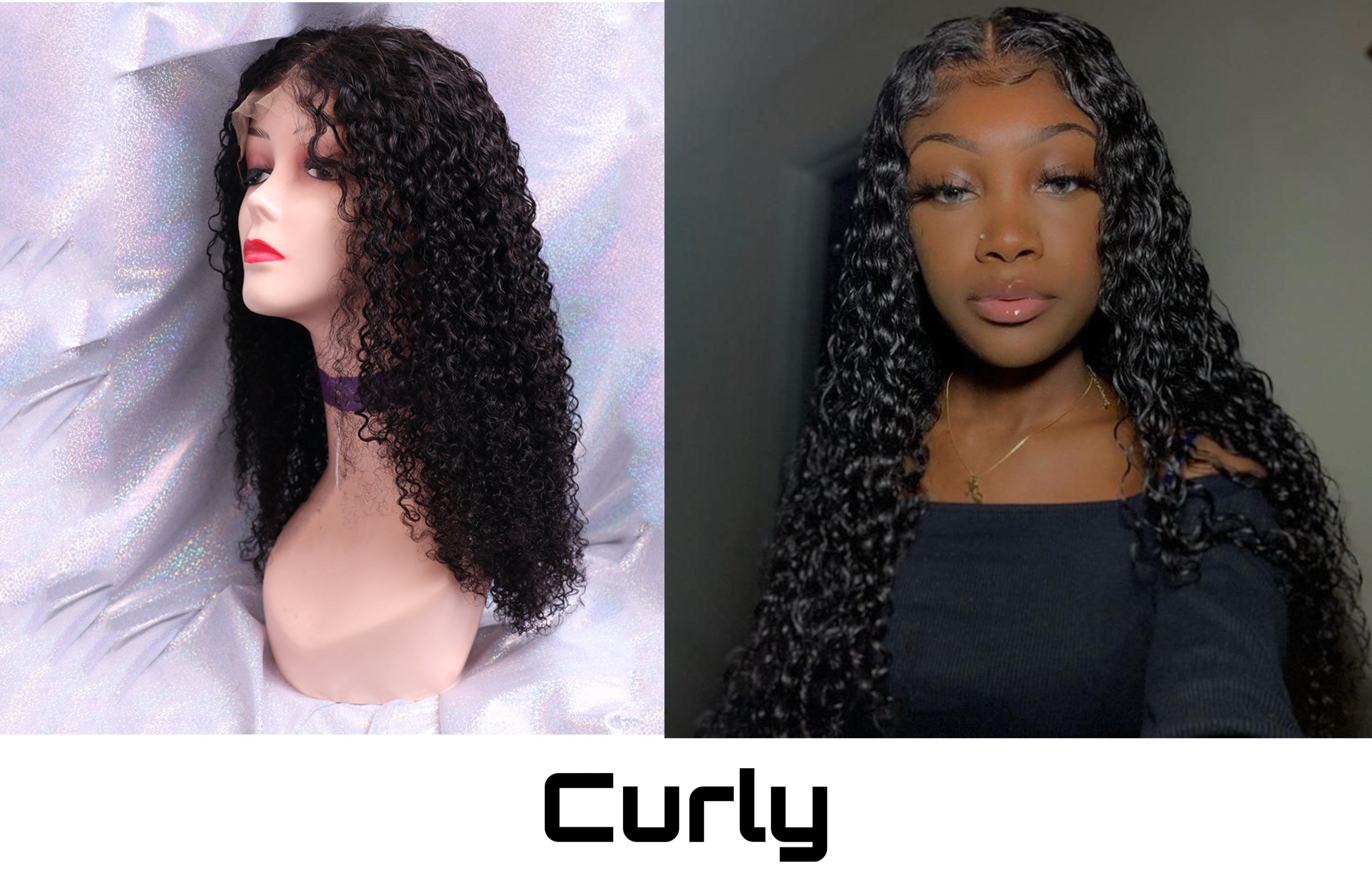 UEENLY CURLY WIG