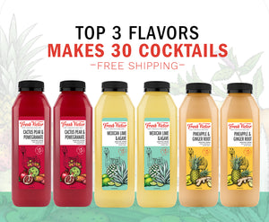 6 bottles – Top 3 Flavors