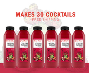 6 bottles – Cactus Pear & Pomegranate