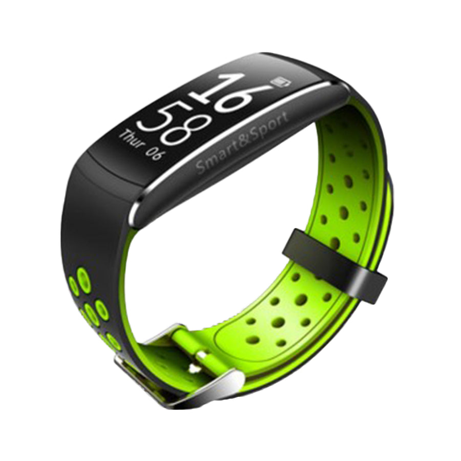 Q8 Smart Bracelet Heart Rate Monitor Fitness Tracker Sport Bluetooth Wristband