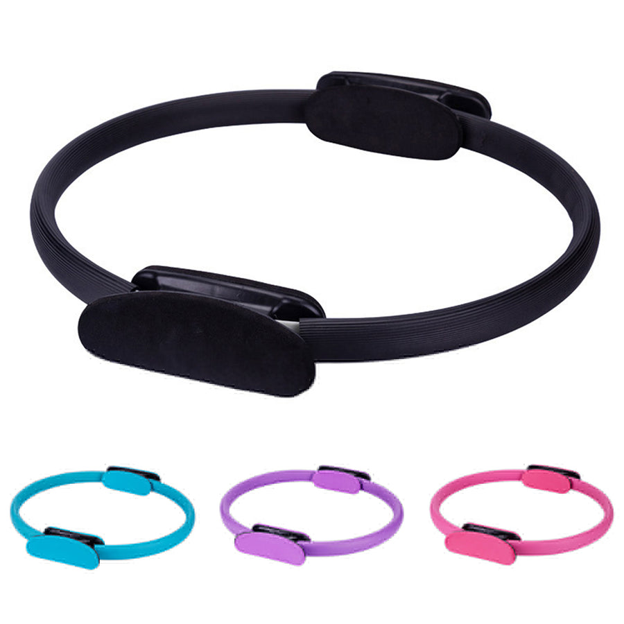 Yoga Pilates Circle Gymnastic Aerobic Exercise Fitness Stretch Resistance Ring