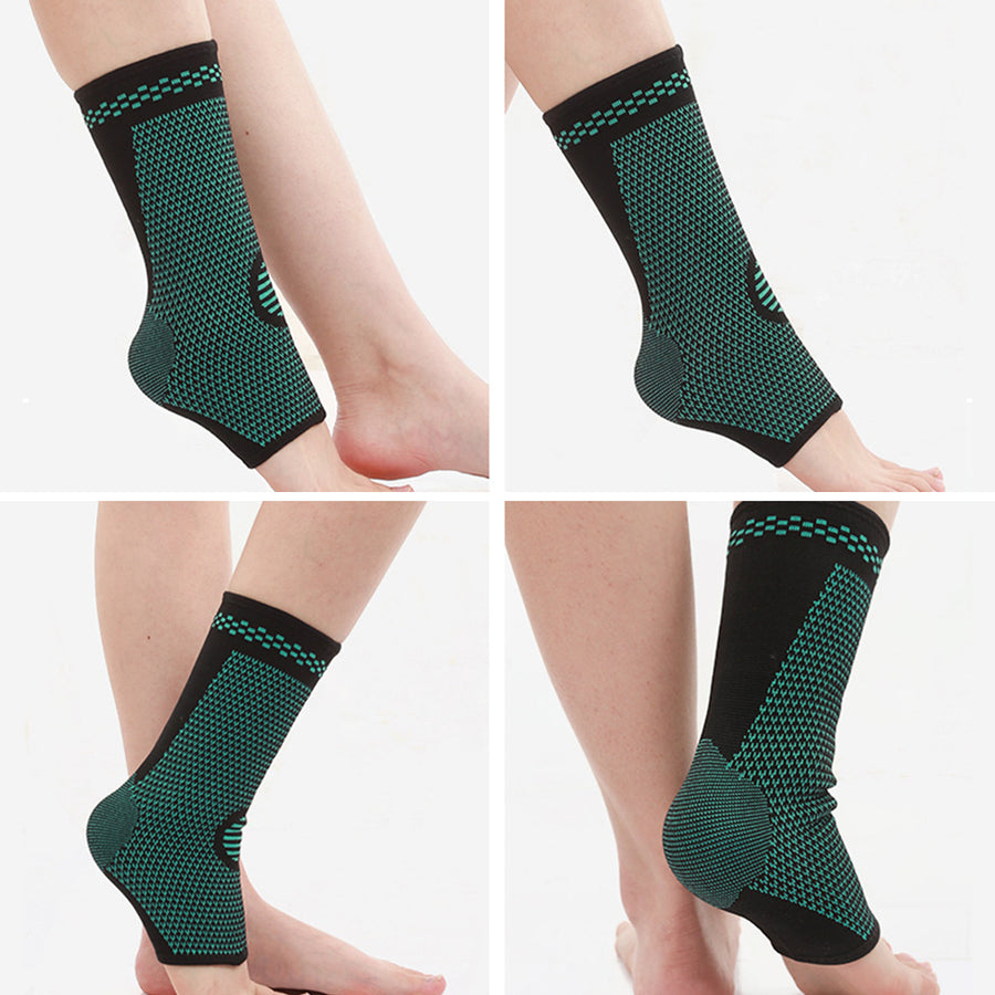 1Pc Sports Gym Foot Support Ankle Brace Soft Nylon Strap Guard Protector