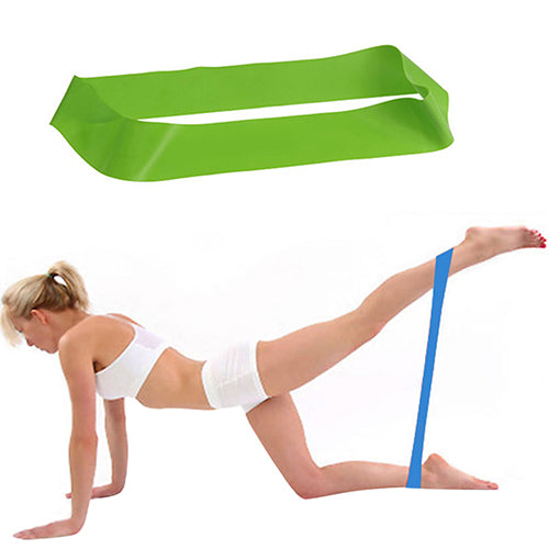 Fitness Workout Yoga Tensile Pull Rope Resistance Band Exercise Tension Ring