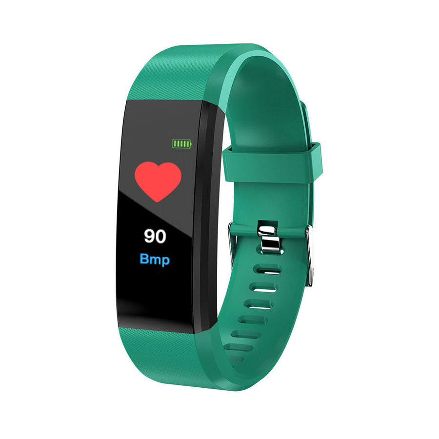 Blood Pressure Oxygen Heart Rate Fitness Smart Watch Sports Wrist Band Bracelet