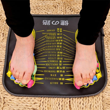 Foot Massager Mat Reflexology Walk Stone Pain Relieve Leg Mat Health Care Pad