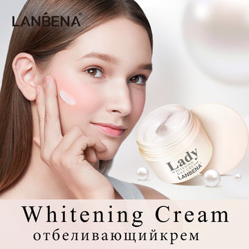 LANBENA Face Cream Lady Whitening Day Cream Facial Care Anti Wrinkle Anti Aging Moisturizing Acne Treatment Nourishing Skin Care