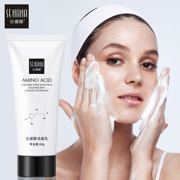 Face Cleanser Whitening Nicotinamide Amino Acid Facial Scrub Cleansing Acne Oil Control Blackhead Remover Shrink Pores Skin Care