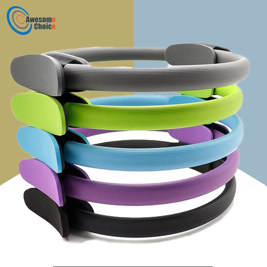 Quality Yoga Pilates Ring Magic Wrap Slimming Body Building Training Heavy Duty PP+NBR Material Yoga Circle 5 colors