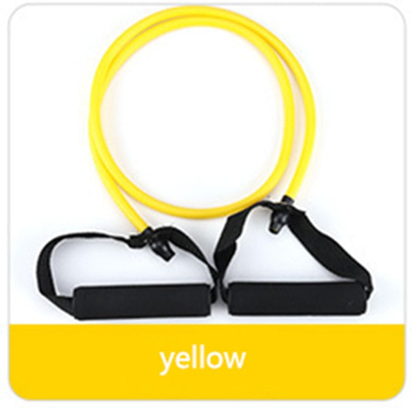 Elastic Resistance Bands Rubber Yoga Band For Fitness Training Workout
