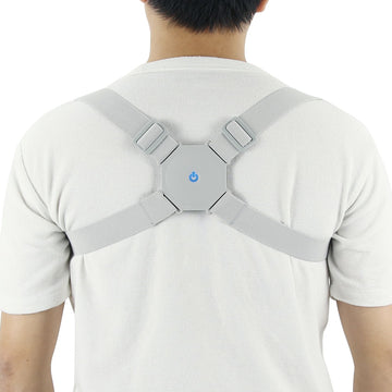 Aptoco Adjustable Smart Back Posture Corrector Back Intelligent Brace Support Belt Shoulder Training Belt Correction Spine Back