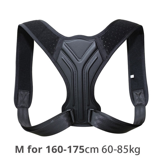 Back Posture Corrector Corset Clavicle Spine Posture Correction Back Support Belt Comfortable Soft Strip Corrector for Adult