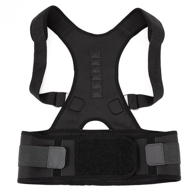 Posture Corrector Magnetic Therapy Posture Corrector Brace Adjustable Shoulder Back Brace Support Belt NO Slouching