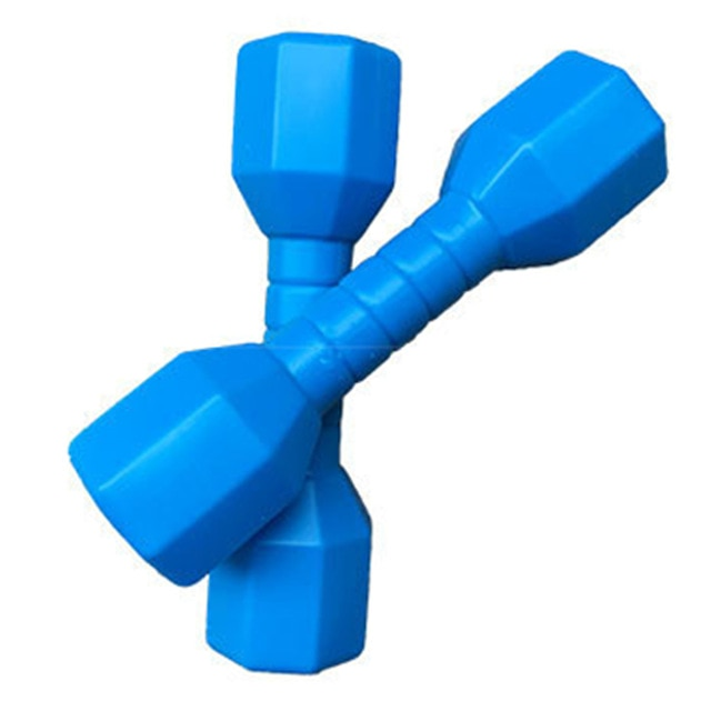 2pcs/set Early Education Fitness Equipment Gift Kindergarten PE Exercise Home Dancing Props Children Dumbbells Hand Weights Gym