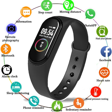 M4 SmartBand Wristband Heart rate/Blood/Pressure/Heart Rate Monitor/Pedometer Sport Smart Watch Bracelet Health Fitness bracelet