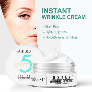 Instant Wrinkle Cream 5 Seconds Wrinkle Remover Puffy Eye Bag Lifting Skin Anti-aging Day Cream Makeup Primer Firming Skin Care