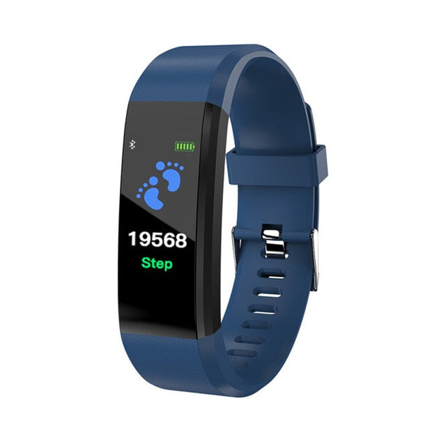 SHAOLIN Health Bracelet Heart Rate Blood Pressure Smart Band Fitness Tracker Smartband Wristband for Men Women Smart Watch